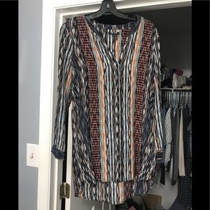 Nic+Zoe button down top size small